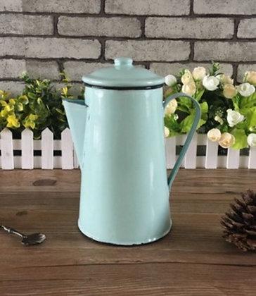 Enamel Retro Teapot