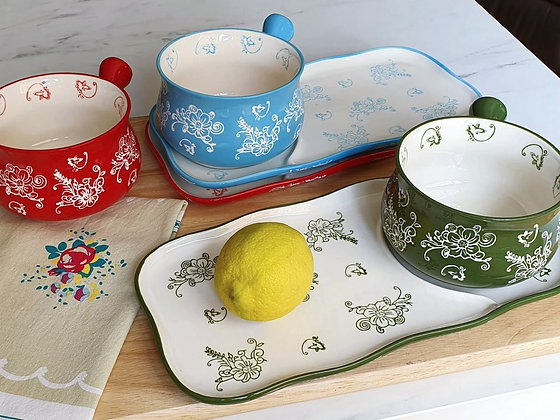 Lily 2pcs Soup Plate Set