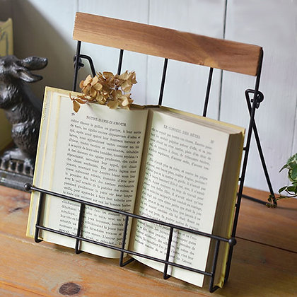 Country Style Recipe Book Stand