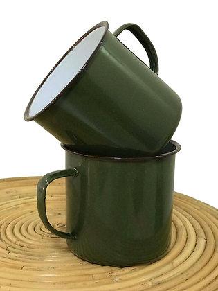 10cm Enamel Plain Cups