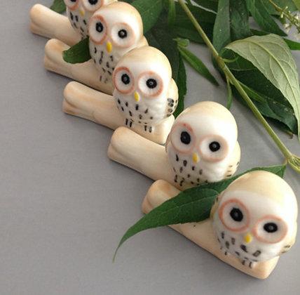 Owl Chopstick Rests - Set of 3