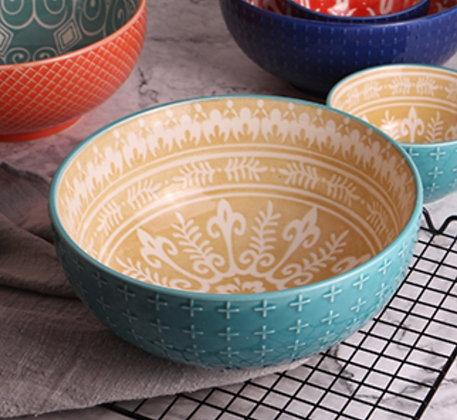 Maison Ceramic Salad Bowl