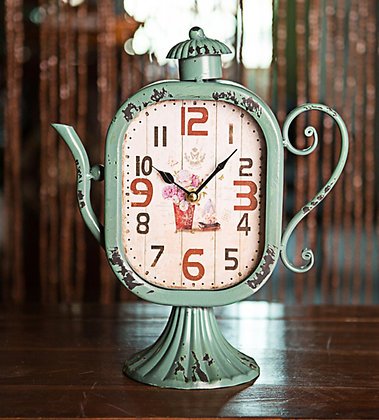 Whimsical Moments Table Clock