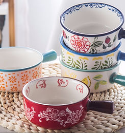 Handpainted soup bowls group.jpeg