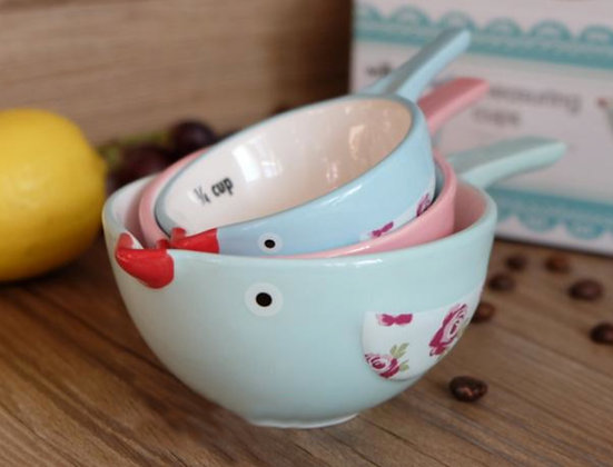 Chirpy Chirp Measuring Cups - 3 pc set