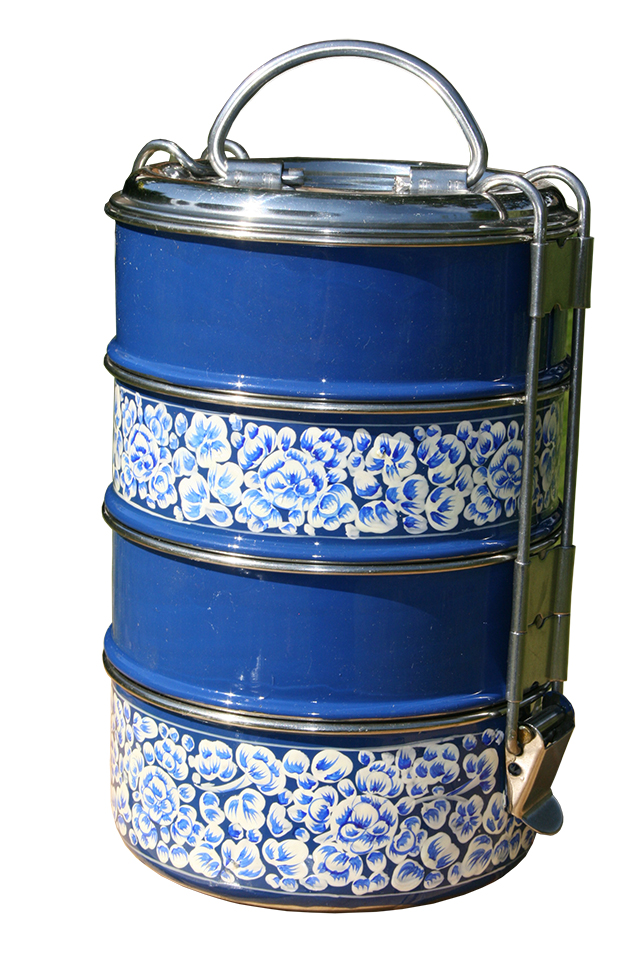 4-tier Tiffin - Blue