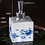 Thumbnail: Blue Water Lily Soap Dispenser