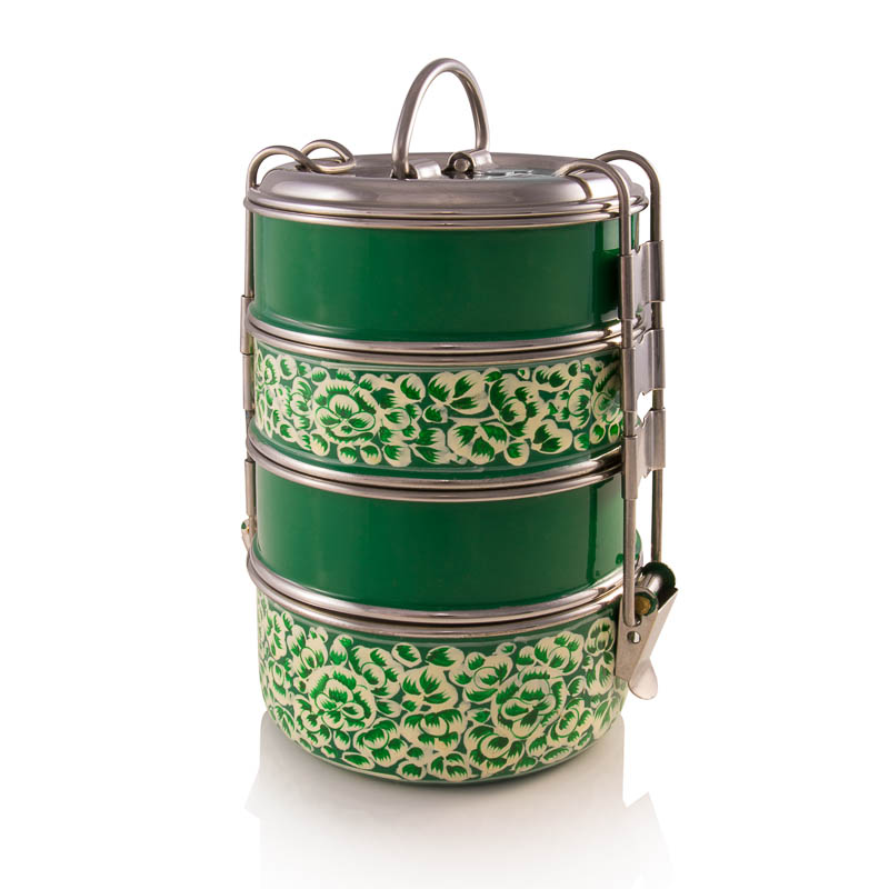4-tier Tiffin - Green