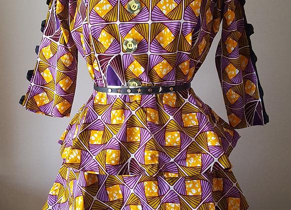 Ibironke Peplum Dress