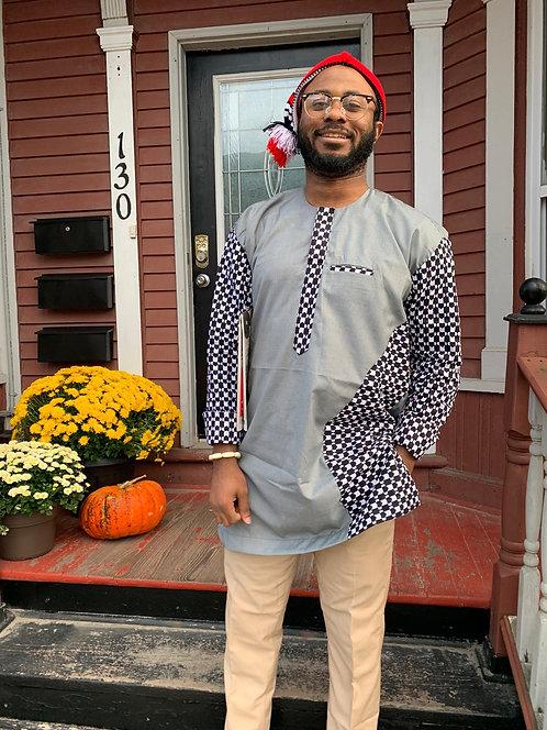 Chima Patterned Long Sleeve Shirt
