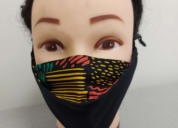Limited Edition 3D Face Mask (2 Layers)