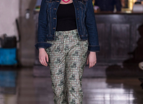 Adesuwa Green-Toned Pants