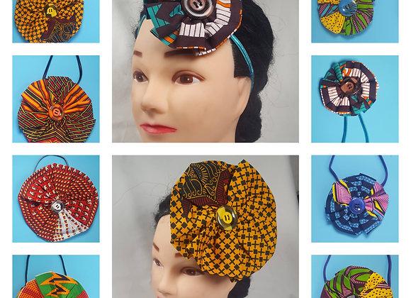 African Print Hair Accessories