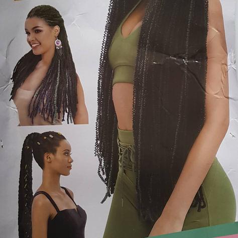 Alita Crochet Braid Models