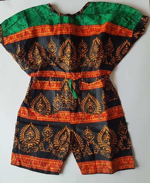 Daluchi Royal Patterned Romper