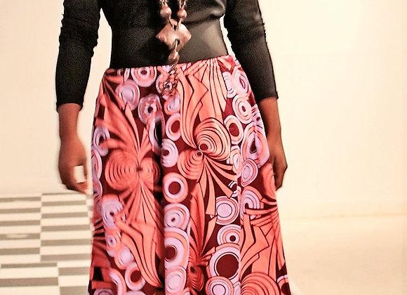 Olanna Flared Midi Skirt