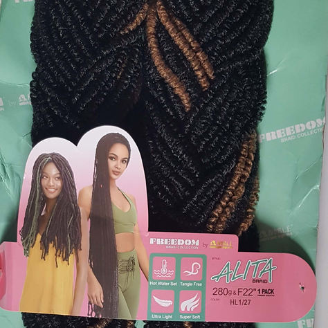 Alita Crochet Braid