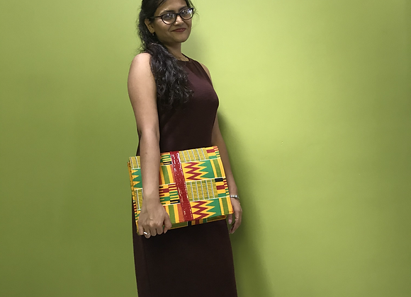 Kente Patterned Handbag