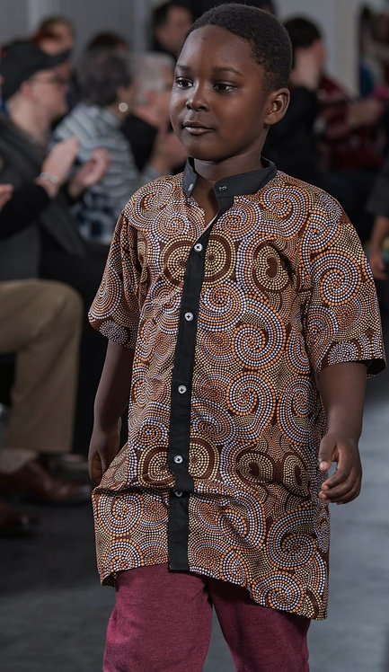 Boys Patterned Top