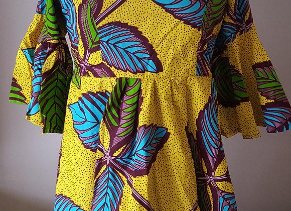 Omotola Empire Waist Dress