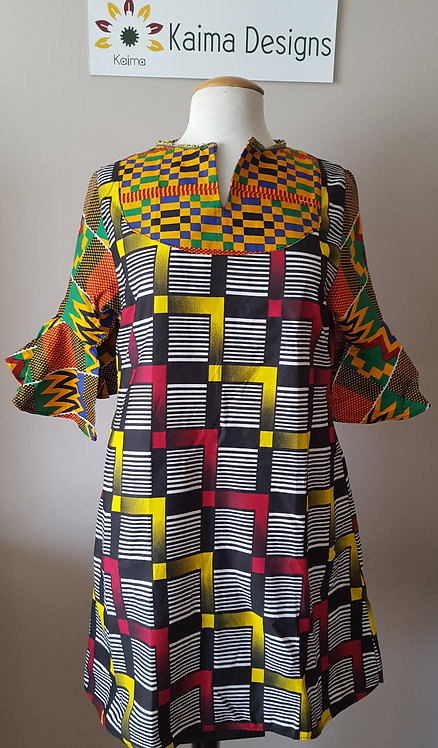 Oluwakemi Patterned Dress