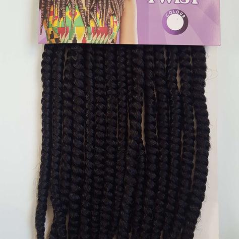 Havana Medium Twist Crochet Braids