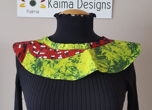 Ankara Neck Piece