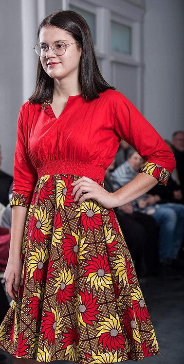Funbi Plain & Patterned Dress