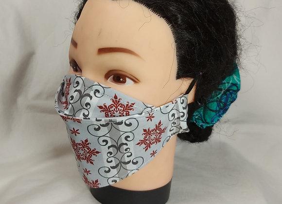 Winter-Themed 3D Face Masks