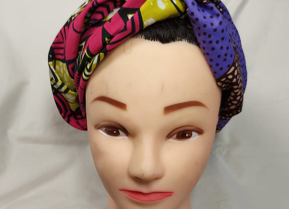 Reversible Twist African Print Hairband