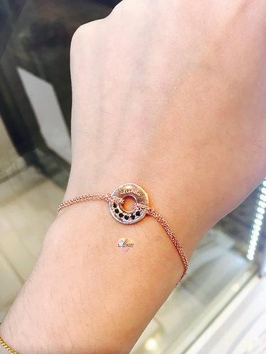 Alyssa Gems Circle Tag
