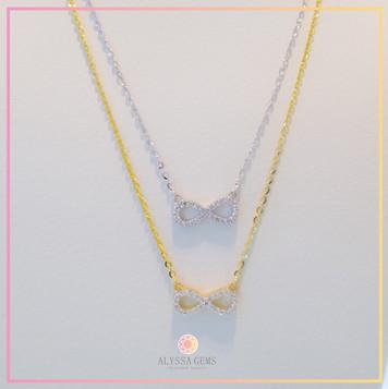 Mini Eternity Necklace