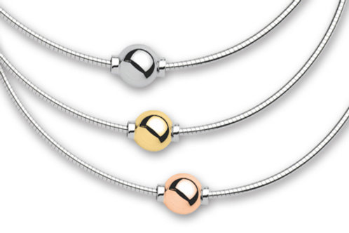 Authentic Le Stage Cape Cod Smooth Ball Necklace