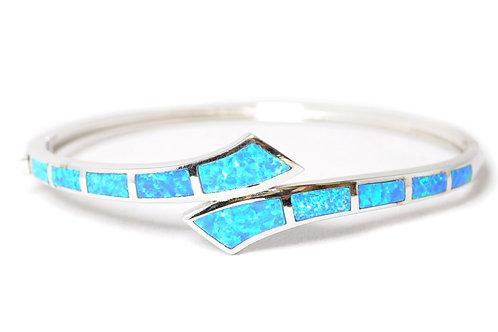 Fire Opal Swirl Bracelet