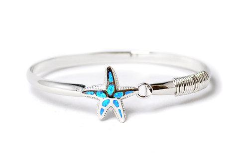 Fire Opal Starfish Bracelet
