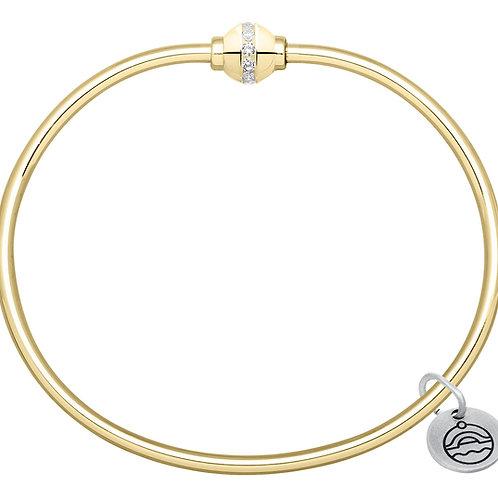 Authentic Le Stage 14K Diamond Bracelet