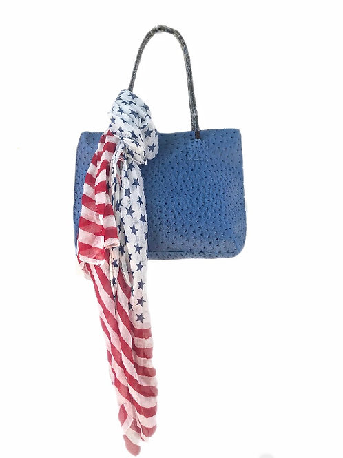 Memorial Day Bag and Scarf Set
