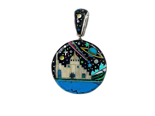 Night Time In The City Pendant