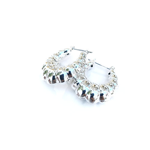 Vintage Silver Plated Earrings