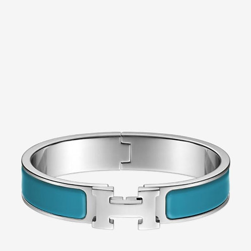 Thin Silver Stainless Steel Bracelet