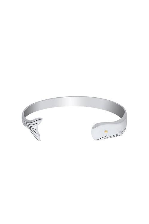 Whale Cuff Bracelet