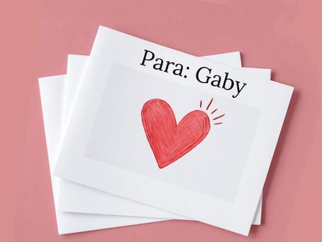 Hola Gaby, esto es para ti  |  Amor Propio