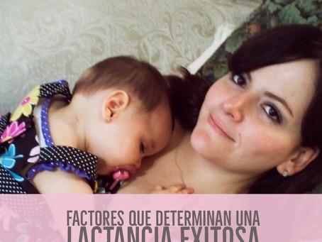 Factores que puedendeterminaruna lactancia exitosa