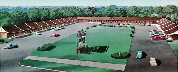 West Plains Motel Postcard