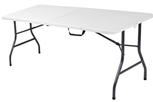 6' and 4' tables