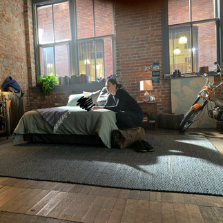 BTS of Microsoft Surface commercial
