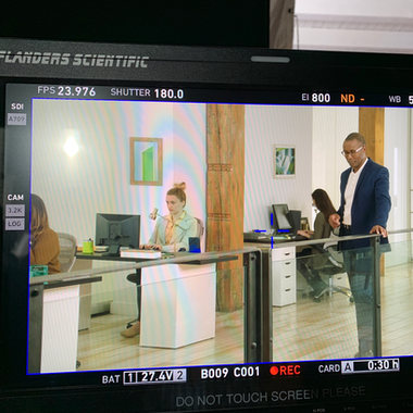 Office set for Microsoft commercial