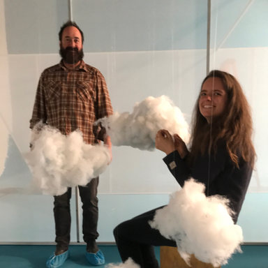 Creating clouds for Alaska Airlines