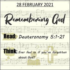 Youth bible study - 28 February 2021