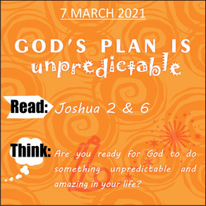 Youth bible study - 7 March 2021